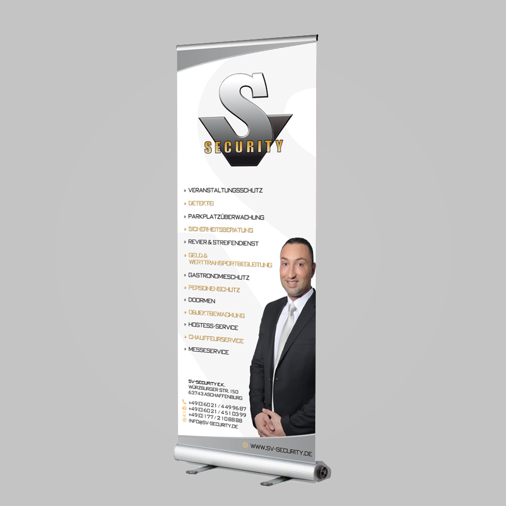 Roll-Up Display Design